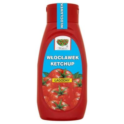 Mild ketchup Wloclawek 480g PET
