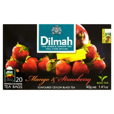 Mango & Strawberry tea Dilmah 20 bags