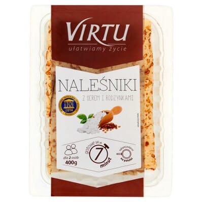 Pancakes with cheese and raisins Virtu 400g