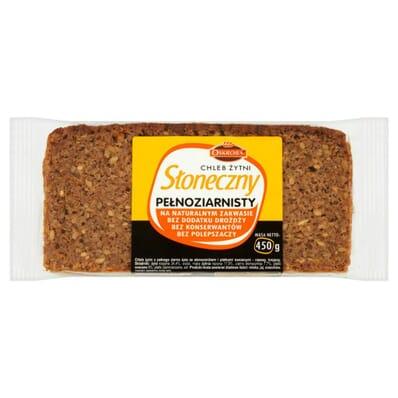 Sloneczny wholemeal rye bread Oskroba 450g
