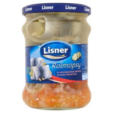 Herring / Rollmops Lisner 400/200g