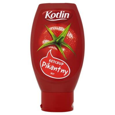 Hot ketchup Kotlin 430g PET
