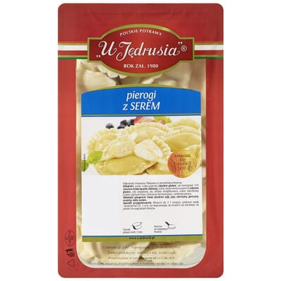 Dumplings with cheese U Jedrusia 1kg