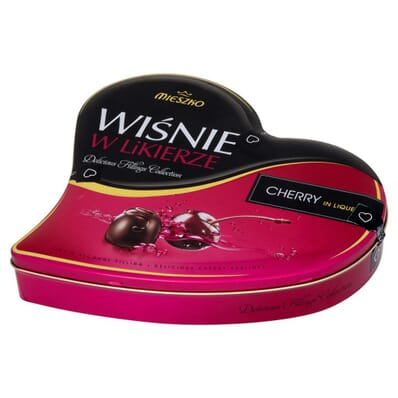 Cherries in liquer chocolates Mieszko / Solidarność 365g
