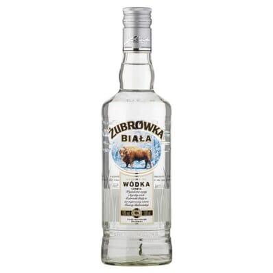 Zubrowka biala (weiß) Wodka 40% 500ml