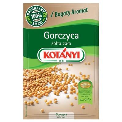 Yellow mustard seeds spice Kotanyi 40g