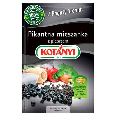 Hot spice mix with pepper Kotanyi 19g