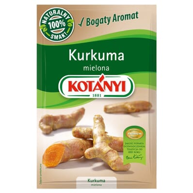 Ground turmeric spice Kotanyi 10g