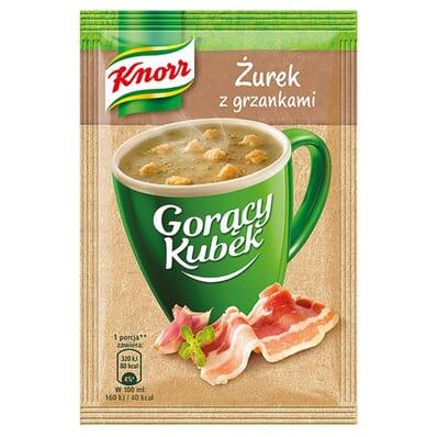 Gorący Kubek Żurek z grzankami Knorr 17g