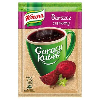 Goracy Kubek Na bogato instant red borscht Knorr 14g