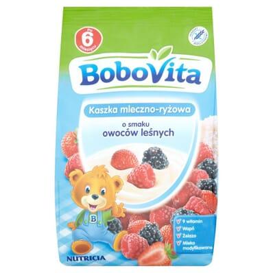 Milk and rice porridge forest fruit flavour Bobovita 230g