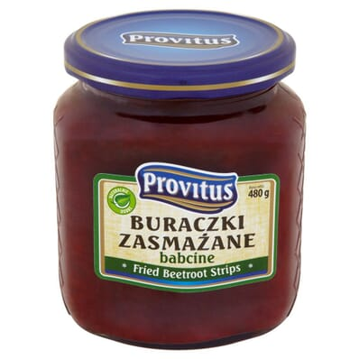 Babcine fried grated beetroot Provitus 480g