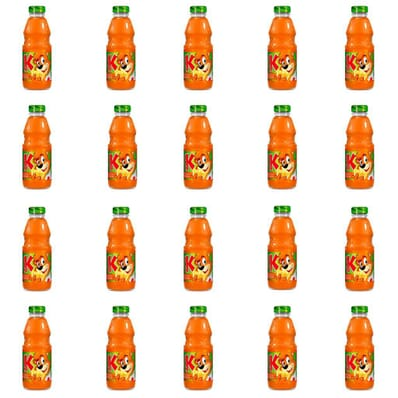 20x Carrot-apple-orange juice Kubus 300ml