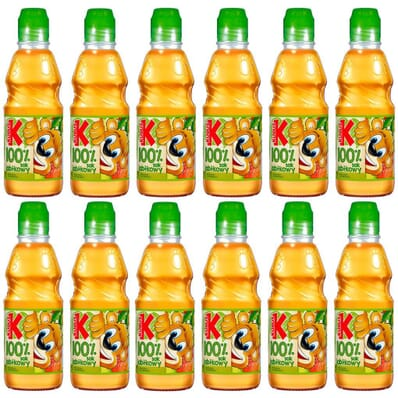 12x Apple juice GO! Kubus 300ml