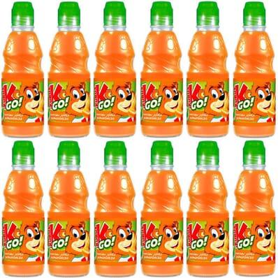12x Carrot, apple, and orange juice GO! Kubus 300ml