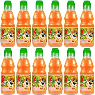 12x carrot-apple-peach juice GO! Kubus 300ml