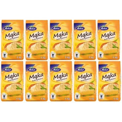 10x Corn flour Melvit 1kg