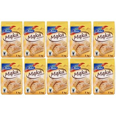 10x Oat flour Melvit 1kg