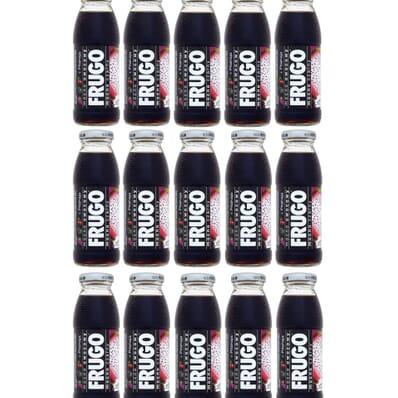 15x Frugo schwarzer Getränk 250ml
