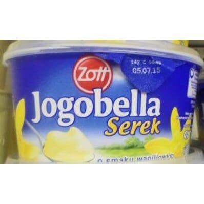Vanilla homogenised cheese Jogobella 500g