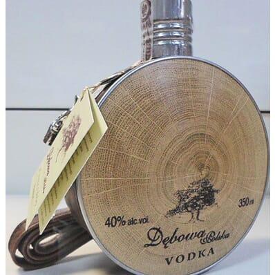 """Debowa """"Buklak"""" (Ledersack) Wodka 350ml"""