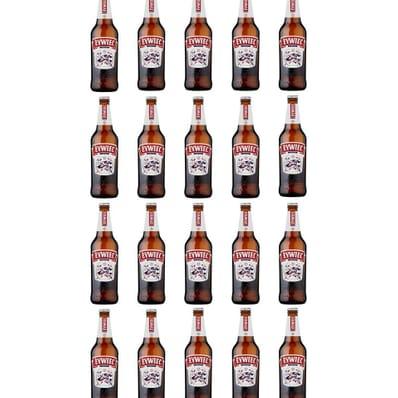 20x Zywiec beer bottle 500ml + case