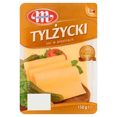 Tylzycki cheese Mlekovita 150g slices