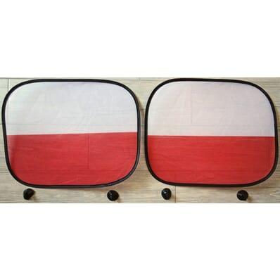 Poland Polska - sunshades 2 pieces