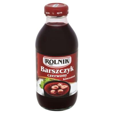 Zupa Barszczyk czerwony koncentrat Rolnik 330ml