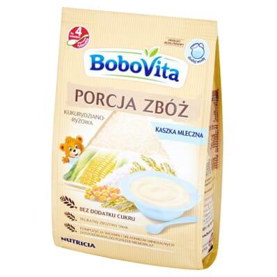 Porcja Zboz milk porridge Bobovita 210g
