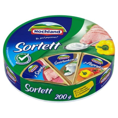 Sortett cream cheese Hochland 200g