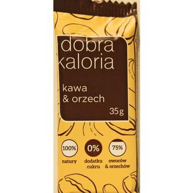 Batonik Dobra Kaloria Kawa & Orzech 35g