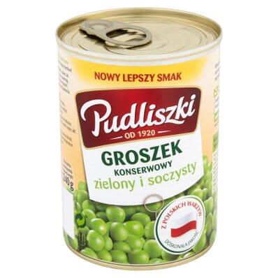 Canned peas Pudliszki 400g