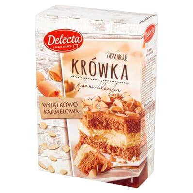 Ciasto Krówka Delecta 530g