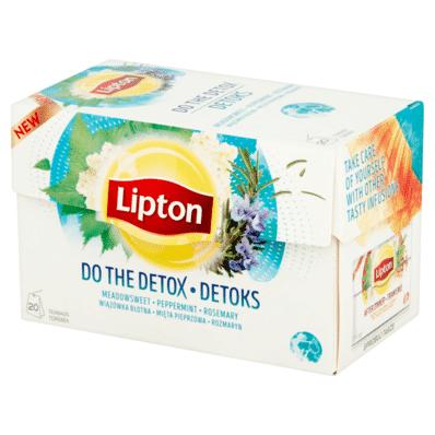 Thé Detox Lipton 20 sachets