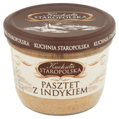 Pate with turkey Kuchnia Staropolska 160g