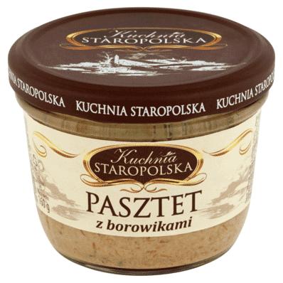Pate with porcini mushrooms Kuchnia Staropolska 160g