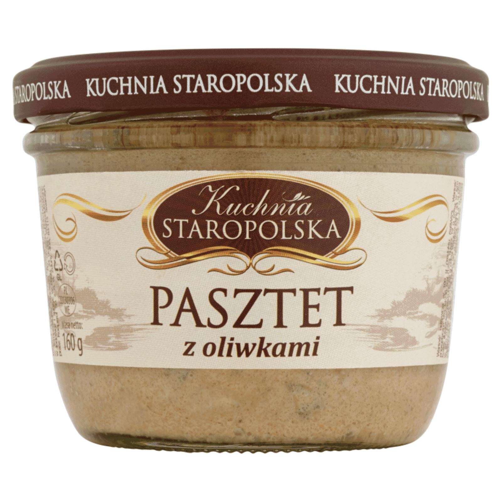 Pate With Olives Kuchnia Staropolska 160g