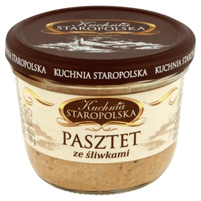 Pate with plums Kuchnia Staropolska 160g