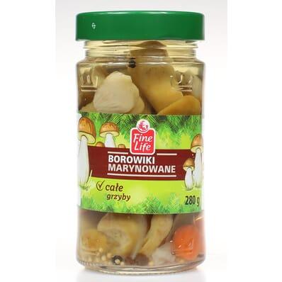 Marinated porcini mushrooms Fine Life 280g