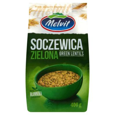 Green lentil Melvit 400g