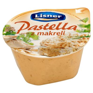 Ryba Pasta z makreli Pastella Lisner / Seko 80g