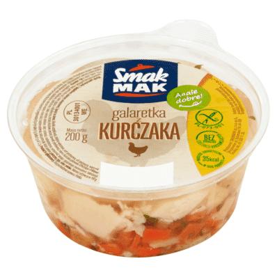 Galaretka mięsna z kurczaka drobiowa Smakmak 200g