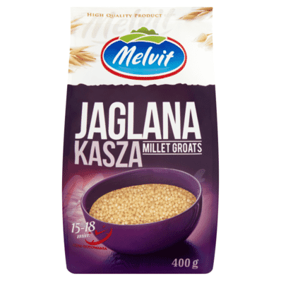 Millet groats Melvit 400g