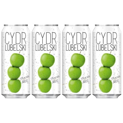 4x Lubelski cider 500ml can