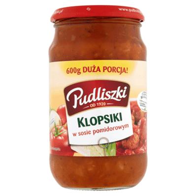 Pudliszki Fleischklößchen in Tomatensauce 600g