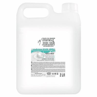 Hypoallergenic goat milk moisturising lotion Bialy Jelen 2l