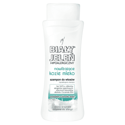 Hypoallergenic goat milk moisturising lotion Bialy Jelen 300ml