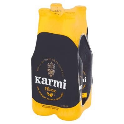 4x Caramel beer Karmi bottle 400ml