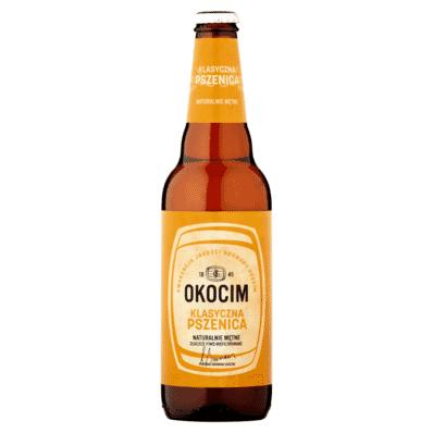 Piwo Okocim klasyczna pszenica butelka 500ml